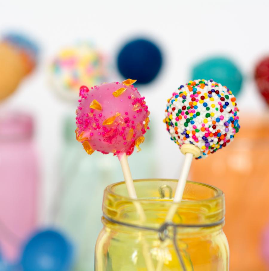 gâteau popcake et cake pop